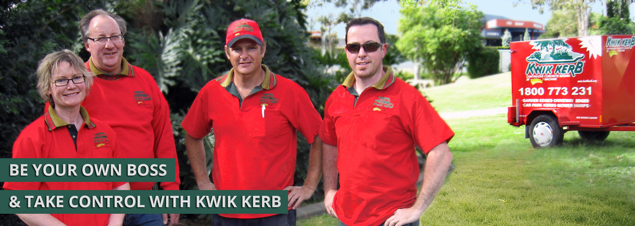 Kwik Kerb Business opportunity Australia